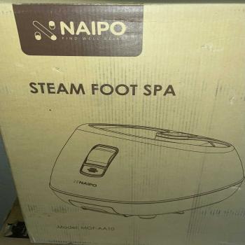 steam foot spa