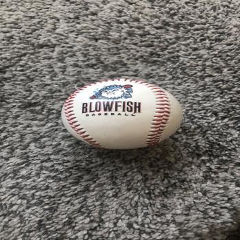 Blowfish baseball souvenir