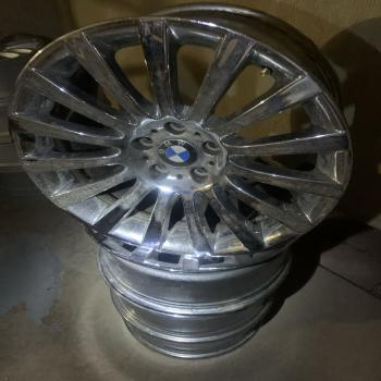 BMW chrome wheel set of 4