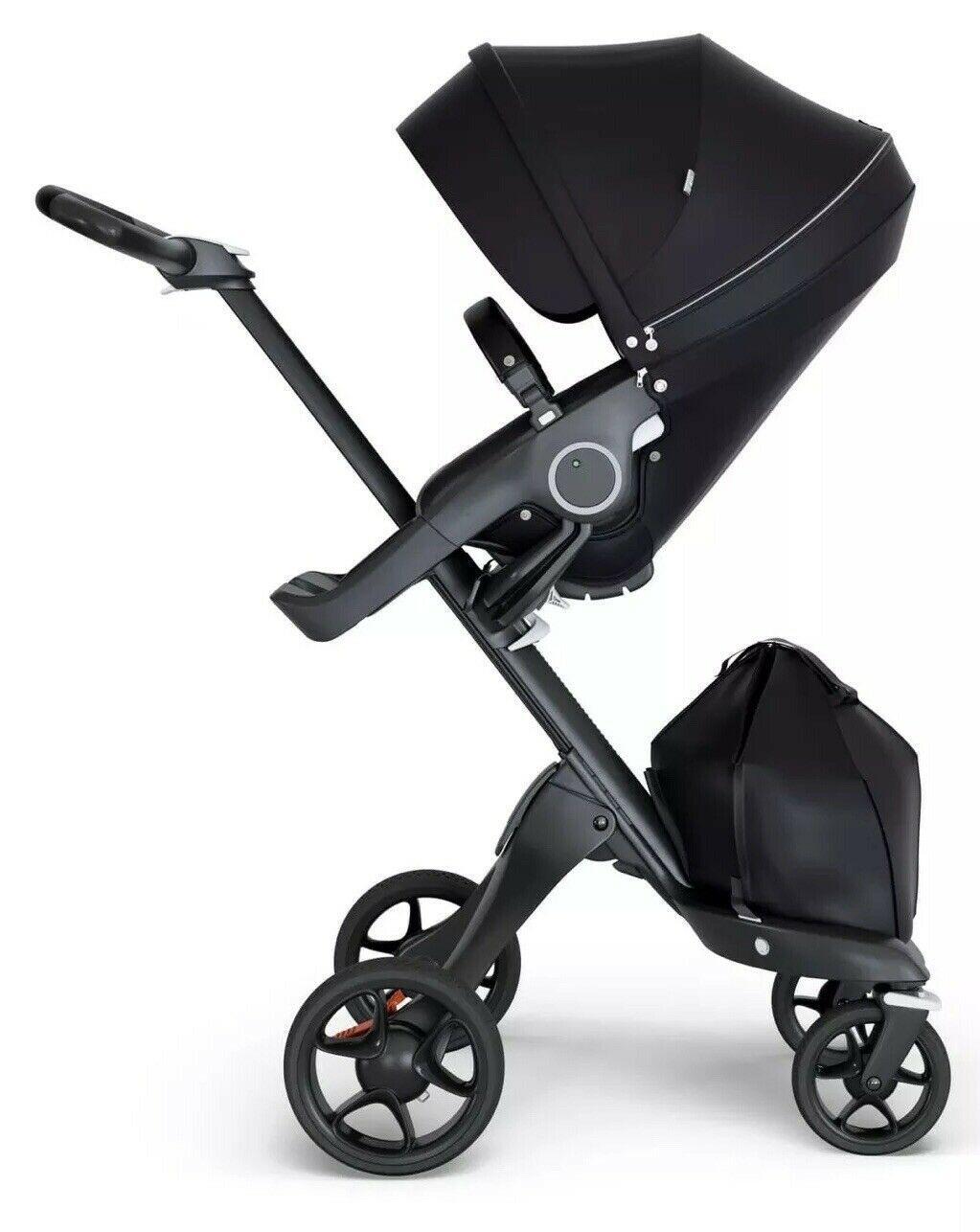 STOKKE Xplory V6 Black Chassis Stroller