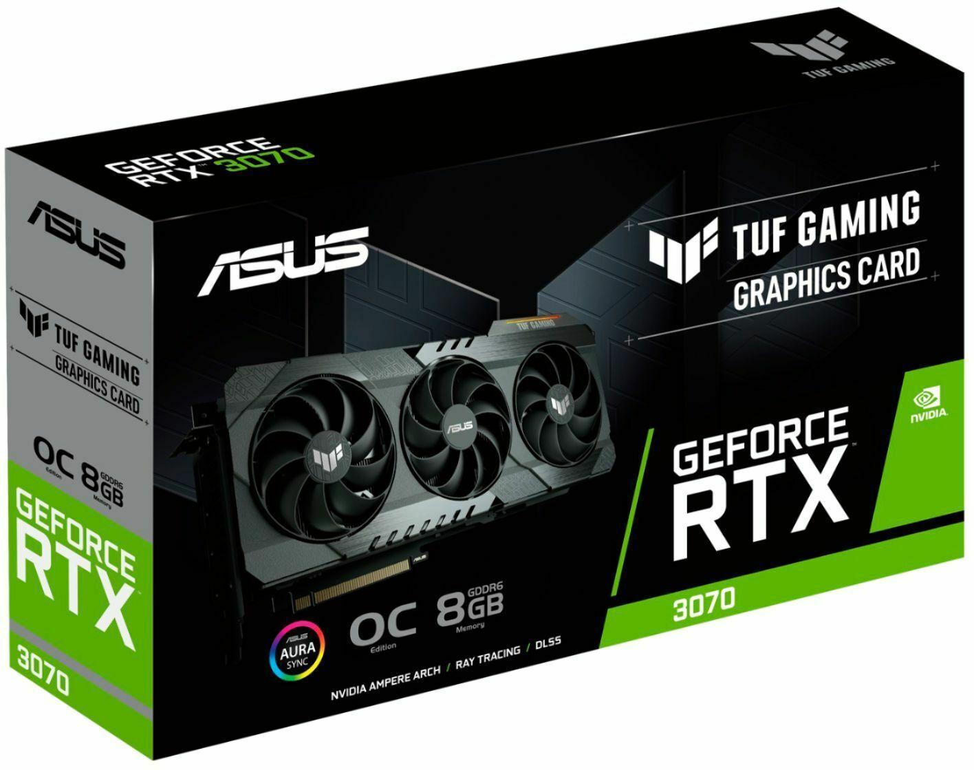 ASUS - NVIDIA GeForce TUF-RTX3070 8GB GDDR6 Graphi