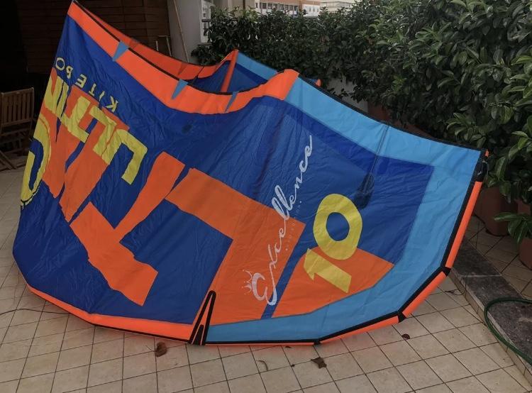 Kite Kitesurfing Ultimate Excellence 10m Bar Compl