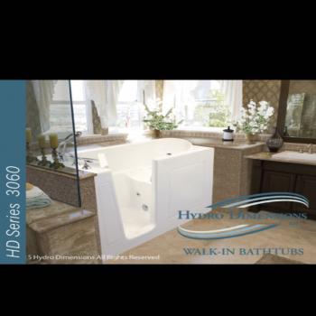 HD series 3260 Walk in Bathtub