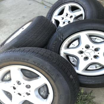 Mercedes Benzs tires&rims