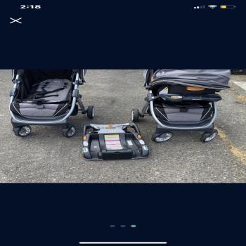 Chicco Bravo strollers