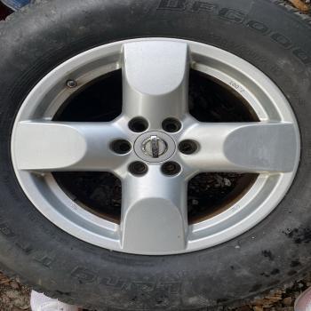 4 x Nissan 4 Spoke Rims