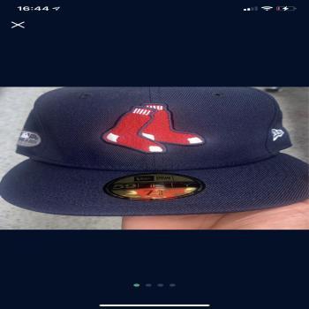 Boston Red sox postseason cap