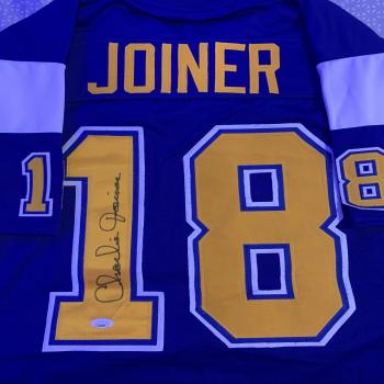 Signed Charlie Joiner Jersey