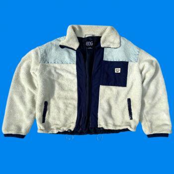 Full zipup Fleece Fuzzy jacket