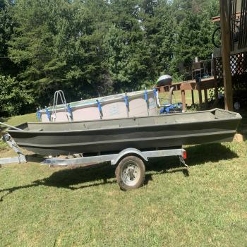 12ft Jon boat