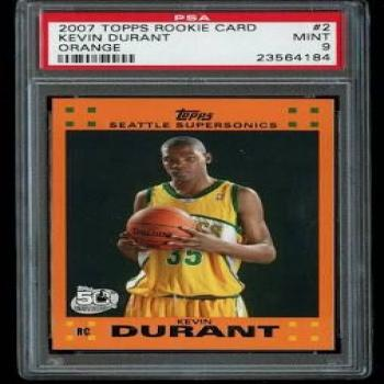 Kevin Durant Rookie cards