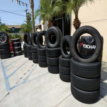 Sets of tires starting off at 180 $