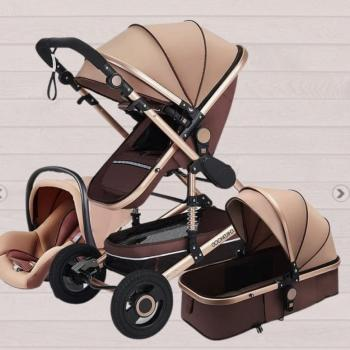 baby 3- in one stroller