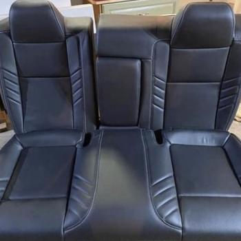 Dodge Challenger leather seats