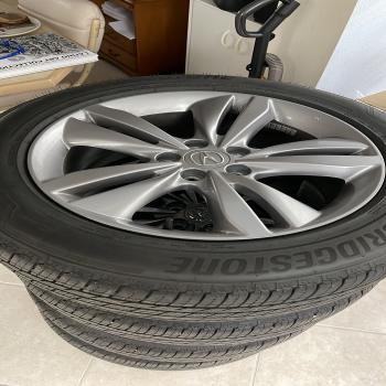 """Acura wheels(19"""") and Tires"""