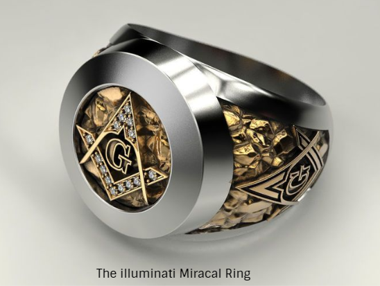 Magic Ring For Job Protections And Money Kingston