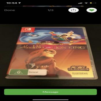Disney classic games: aladdin
