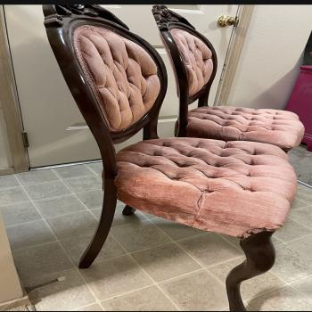 Victorian vintage chairs