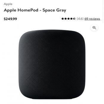 Apple Homepod Space Grey