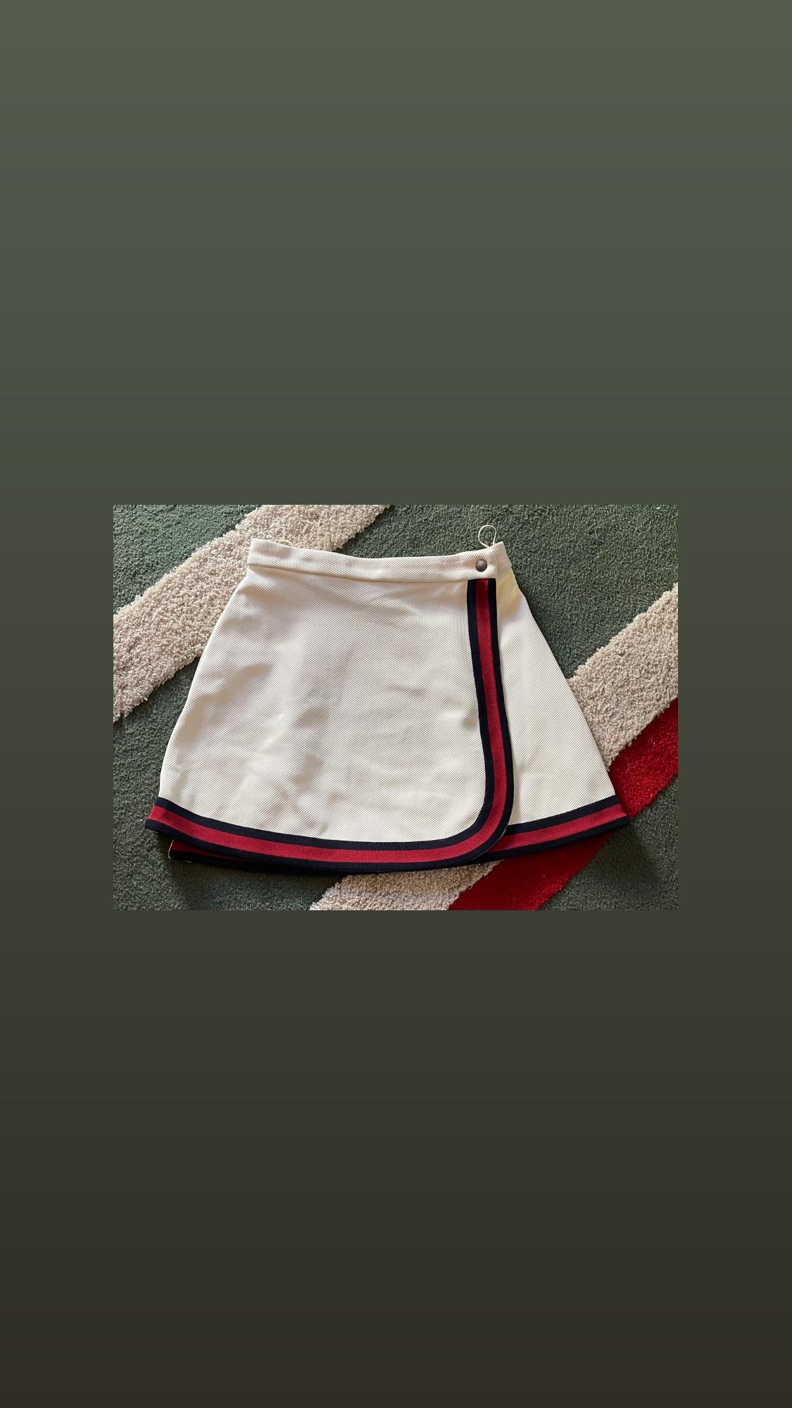 Gucci Tennis Skirt New