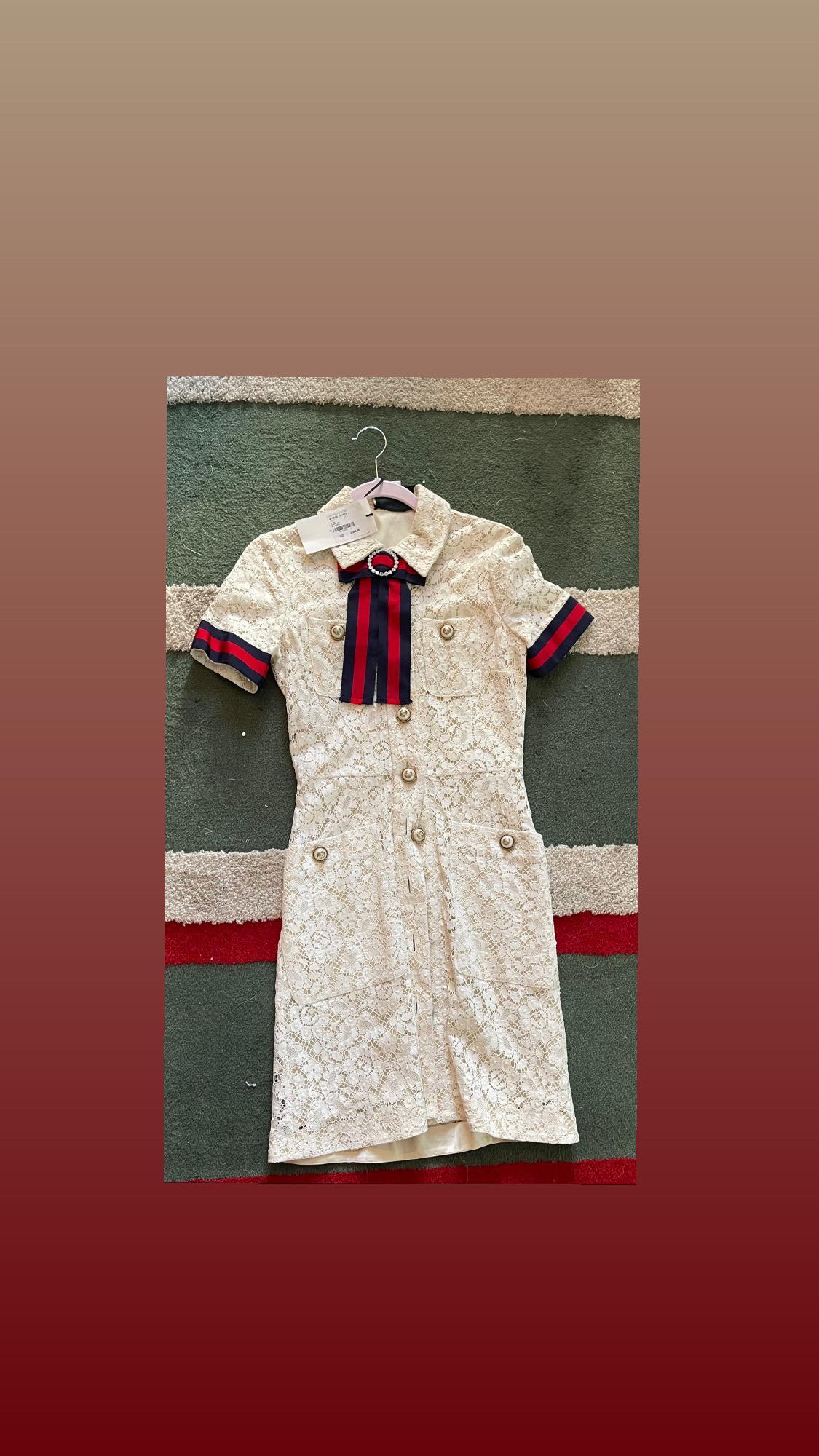 Gucci Lace dress