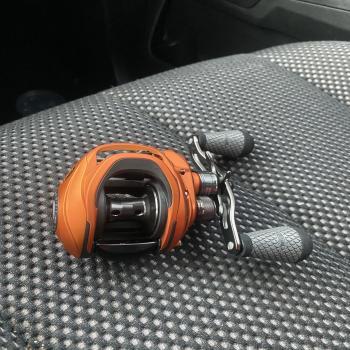 Lews Mach crush baitcast reel