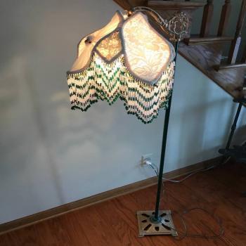 Antique Bridge Lamp.