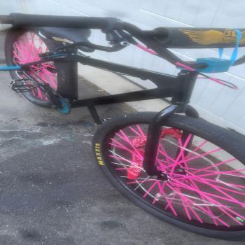 se dblocks flyer wheelie bike