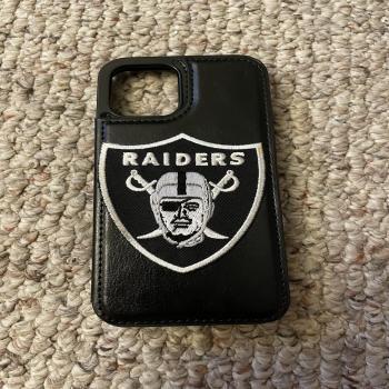 raiders phone case