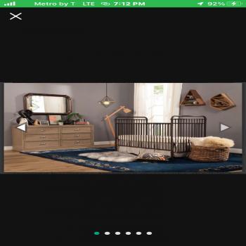 Abigail 3in1 convertible crib
