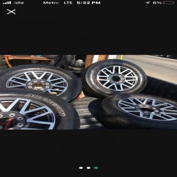 tires and 8-lug rims