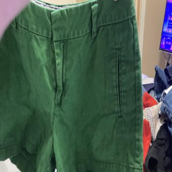 JCPenney green shorts