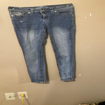 size 6 paisley skinny jeans
