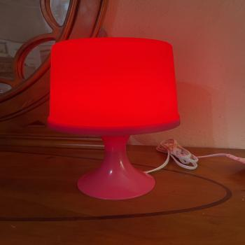 IKEA PINK TABLE LAMP