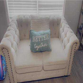 loveseat and 3 piece sofa