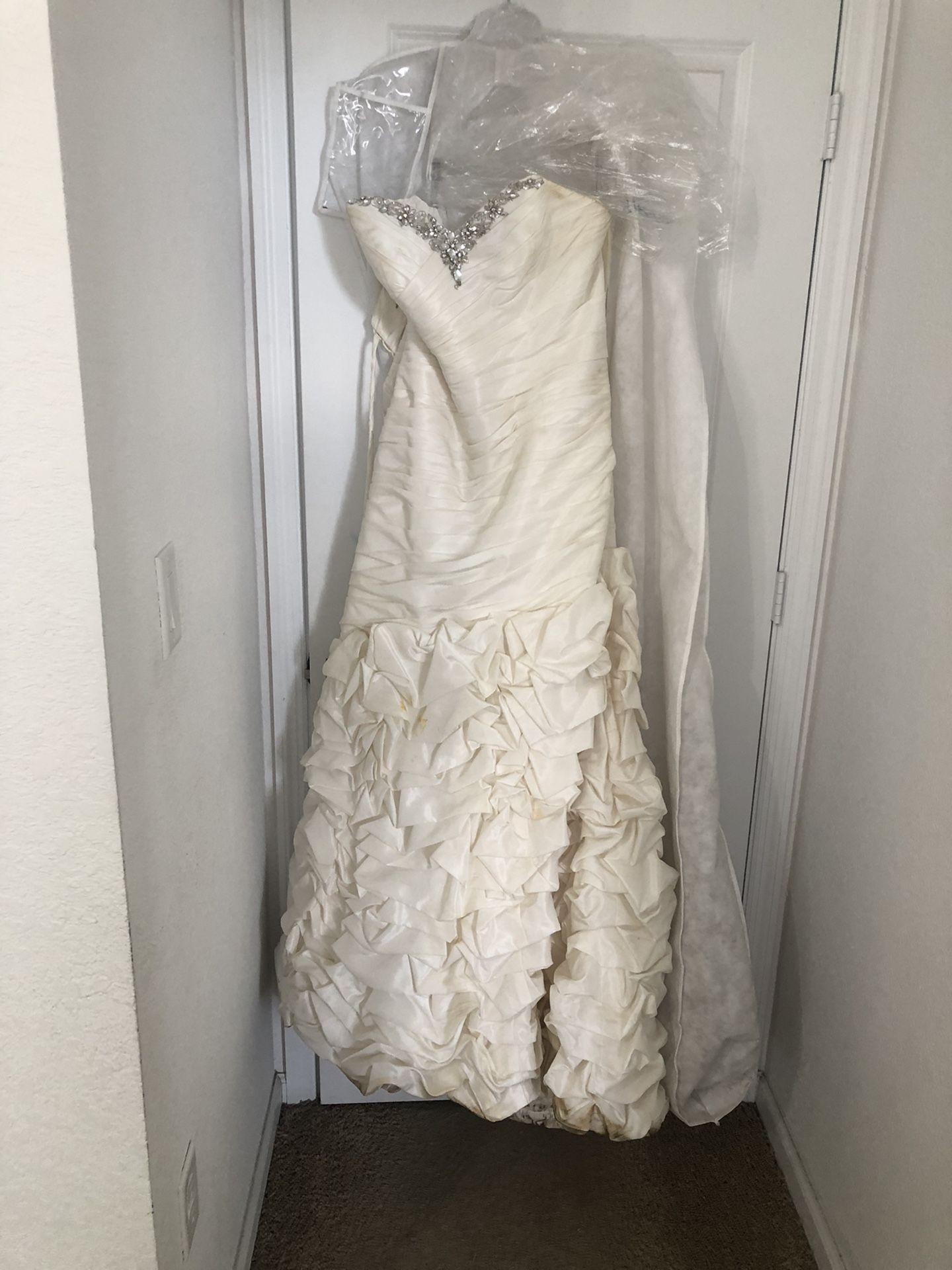 Alfred Angelo Wedding Dress Size 17