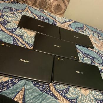 5X Asus Chromebook Laptops