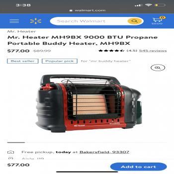 Mini Propane heater