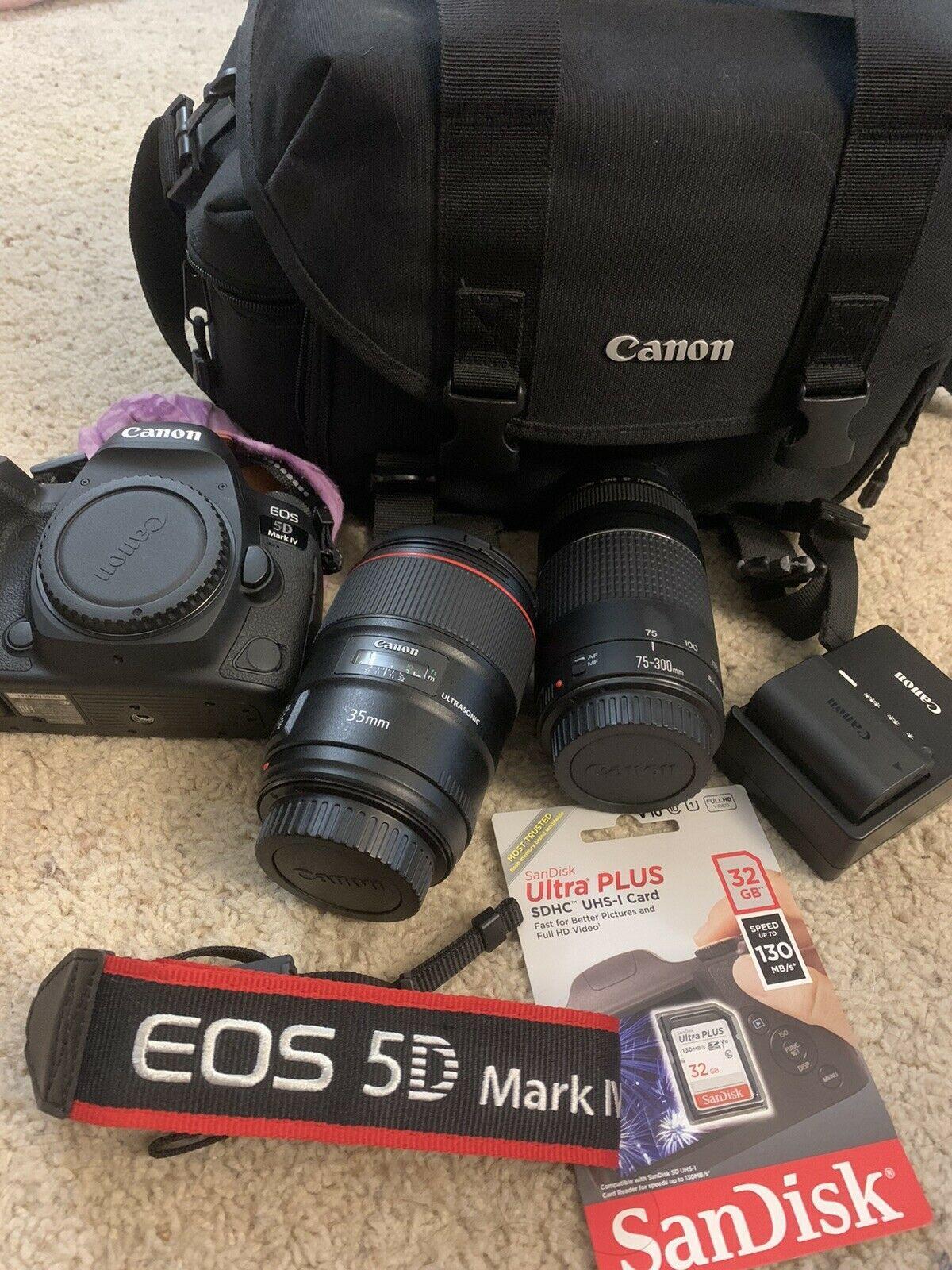 canon eos 5d mark iv Bundle